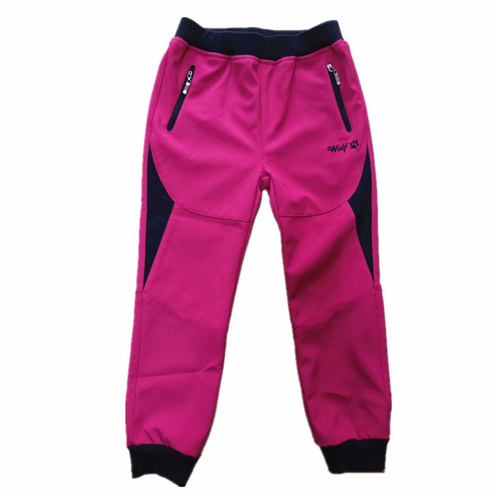 Softshell Winter Kids Warm Windproof Active Ski Pants Featured Image