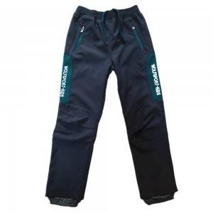 Waterproof Snow Pants Boys Girls Hiking Ski Windproof Warm Soft Shell Fleece Lined Insulated Trousers