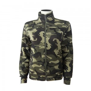 Knitted Camouflage Jacket for Women