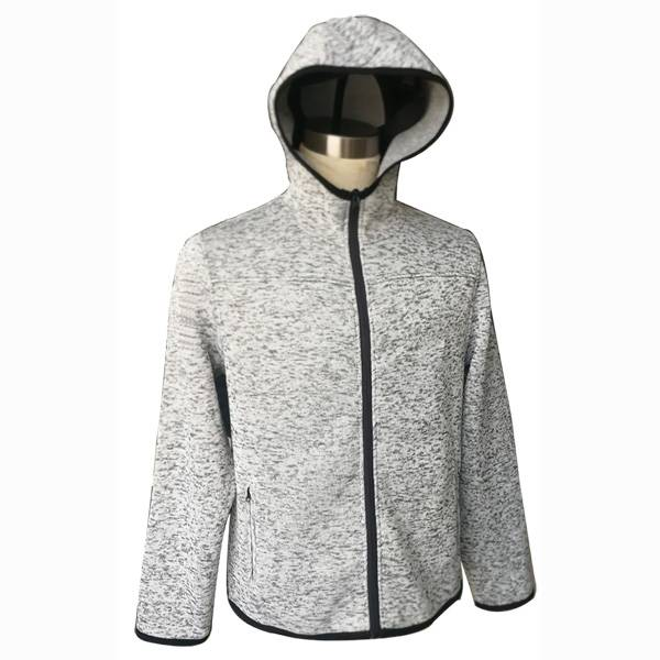 Men's jacket autumn Spring casual sweatshirt fashion jacket men Solid color zipper hooded coat men clothing Featured Image
