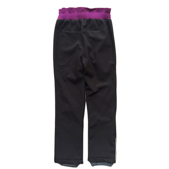 Girl Clothes Outdoor Sport Pants with Waterproof and Warmproof