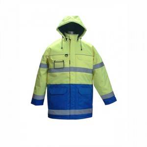 Reflective Parka - Fluorescent Parka  Safety Workwear Jacket – Hantex