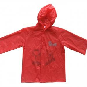 New Fashion Design for Waterproof Poncho Coat - Pvc Rain Coat For Kids – Hantex