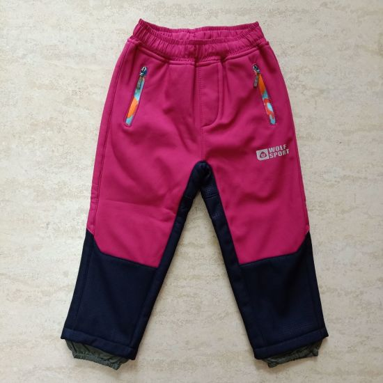 Children′s Winter Clothing Waterproof Softshell Outdoor Pants for Kids Trouser Wholesale
