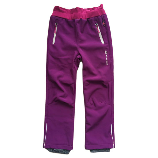 Girl Outdoor Sport Pnats with Waterproof and Warmproof