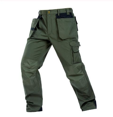 Hot Sale More Pockets Design Pants Work Trousers Working Pants Men Workwear Colorful
