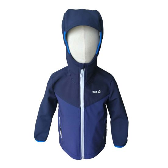 Kids Softshell Jacket Outdoor Wear Comfortable Apparel for Sport