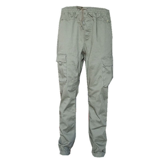Fashion Spandex Fabric Pants Outdoor Cotton Workwear Slim Leisure Work Cargo Pants