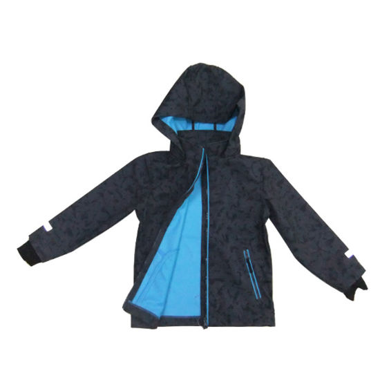 Boys′ Soft Shell Jacket Winter Coat