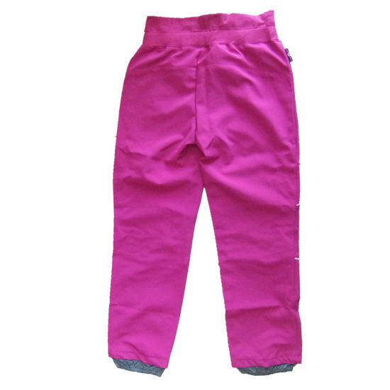 Kids Soft Shell Pants Outdoor Clothing Sport Garment