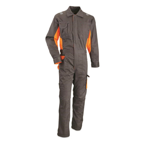 Hi Vis Workwear Reflective Safety Poly-Cotton Coveralls