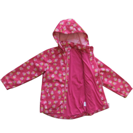 Girls Clothes Kids Softshell Jacket