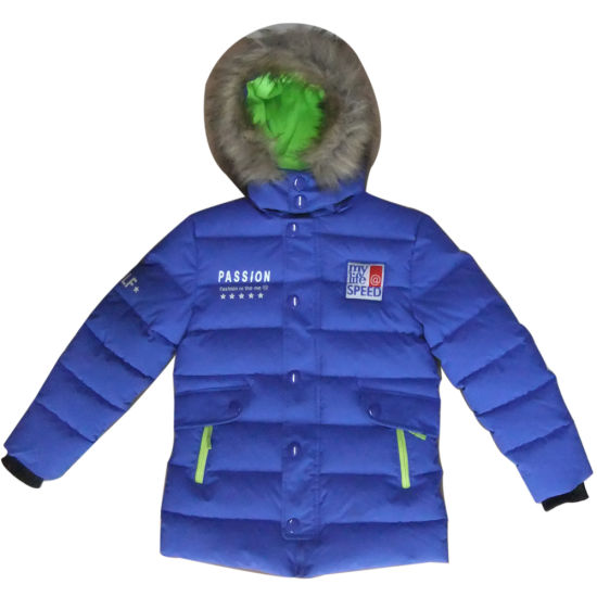 Children′s Cotton Padded Jacket Winter Clothes