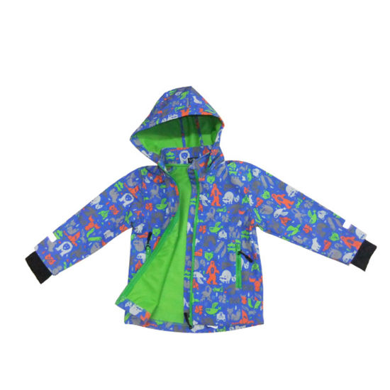 Kids Outdoor Coat Soft Shell Jacket with Windproof