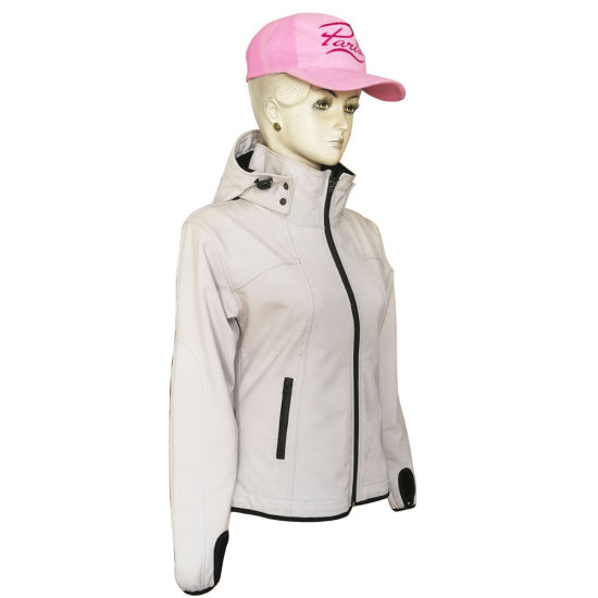 Premium Softshell Jacket for Women, with Windproof, Waterproof, Breathable and Warmer