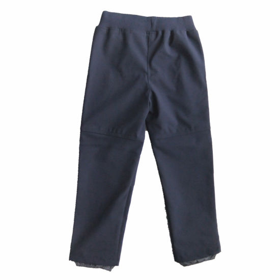 Boy Outdoor Clothing Soft Shell Pants Sport Trousers