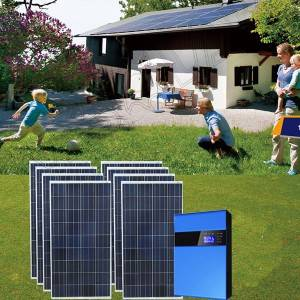 OEM Manufacturer Solar Panel System 10kw - Off Grid Solar Power System For Home – Mutian