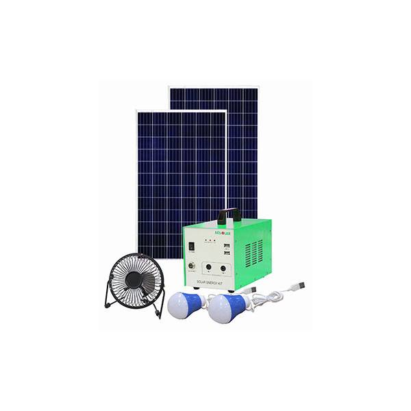 Manufacturer of  Solar Power System Home 5kva - Portable Solar Power Kit MLW 100W – Mutian