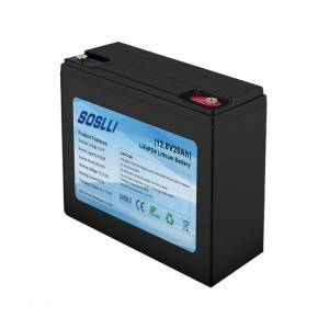 12V 20Ah LiFePO4 Deep Cycle Battery