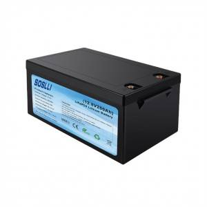 12V 250Ah LiFePO4 Deep Cycle Battery