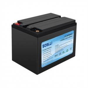 12V 75Ah LiFePO4 Deep Cycle Battery