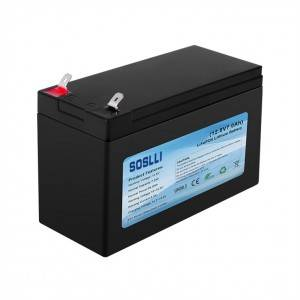 12V 7Ah LiFePO4 Deep Cycle Battery