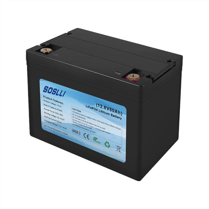 China 12V 80Ah LiFePO4 Deep Cycle Battery Manufacturer and Supplier | SOSLLI Featured Image