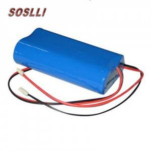 Factory price LiFePo4 14500 rechargeable battery pack 6.4v 600mAh battery pack