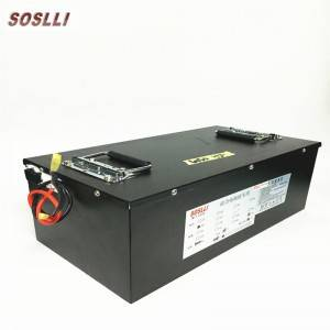 Deep Cycle 72v 50Ah Battery Pack LiFePO4 Lithium Electric vehicle power supply High Power Forklift Battery