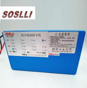 China 48V 20Ah Li-Ion lithium ion battery pack for Golf cart Electric bicycle scooter Manufacturer and Supplier | SOSLLI