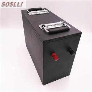 12V 100AH Lithium iron phosphate battery pack f...