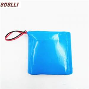9.6V 1.5AH 18650 3s1p LiFePO4 battery pack for solar light