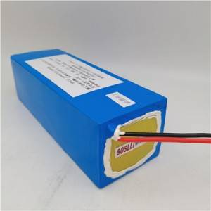 24V 25.2V 9AH Lithium Ion battery pack with built in BMS