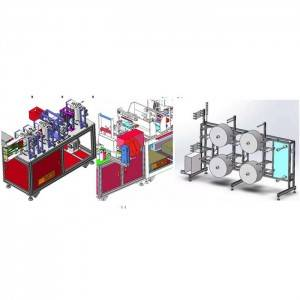 Newly Arrival Package Machine - Kn95 Mask Making Machine – Shouzheng