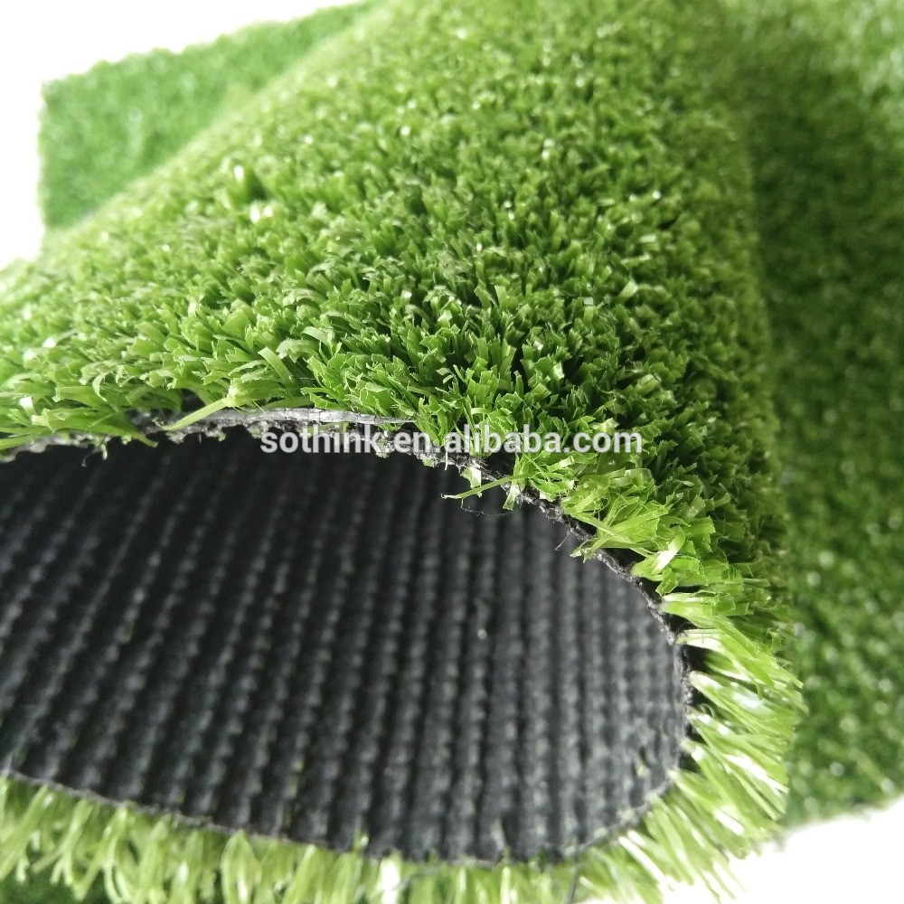 10 mm high durability badminton court artificial grass mat