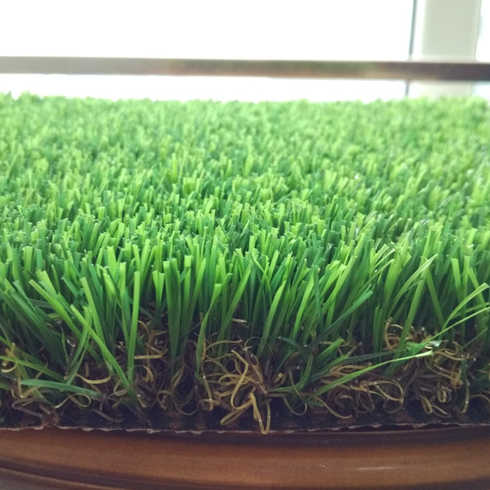 Hot sale natural 4 colors high density soft factory artificial grass carpet for balcony
