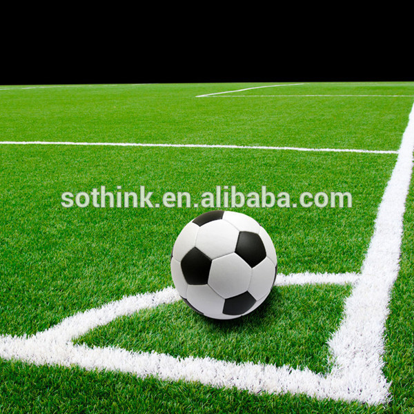 Factory Supply Installation Of Artificial Turf - wholesale natural looking soccer and football artificial grass turf – Sothink detail pictures