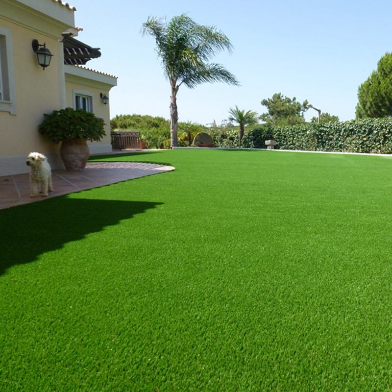 Hot sale natural 4 colors high density soft factory best artificial turf for backyard
