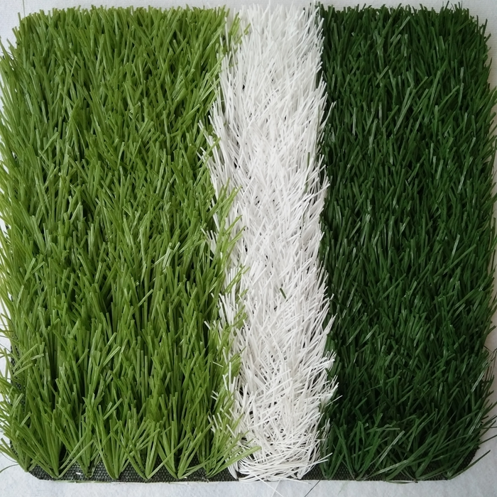 Hot sale free sample green 50 mm synthetic grass soccer