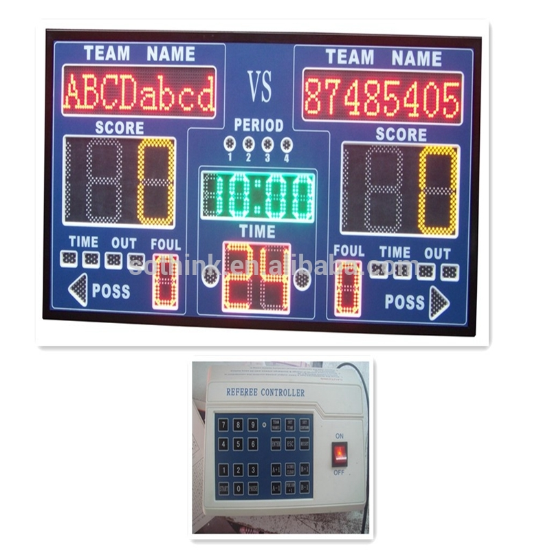Special Price for Basketball Or Football Led Scoreboard - alibaba express football p10 LED scoreboard with shot clocks – Sothink