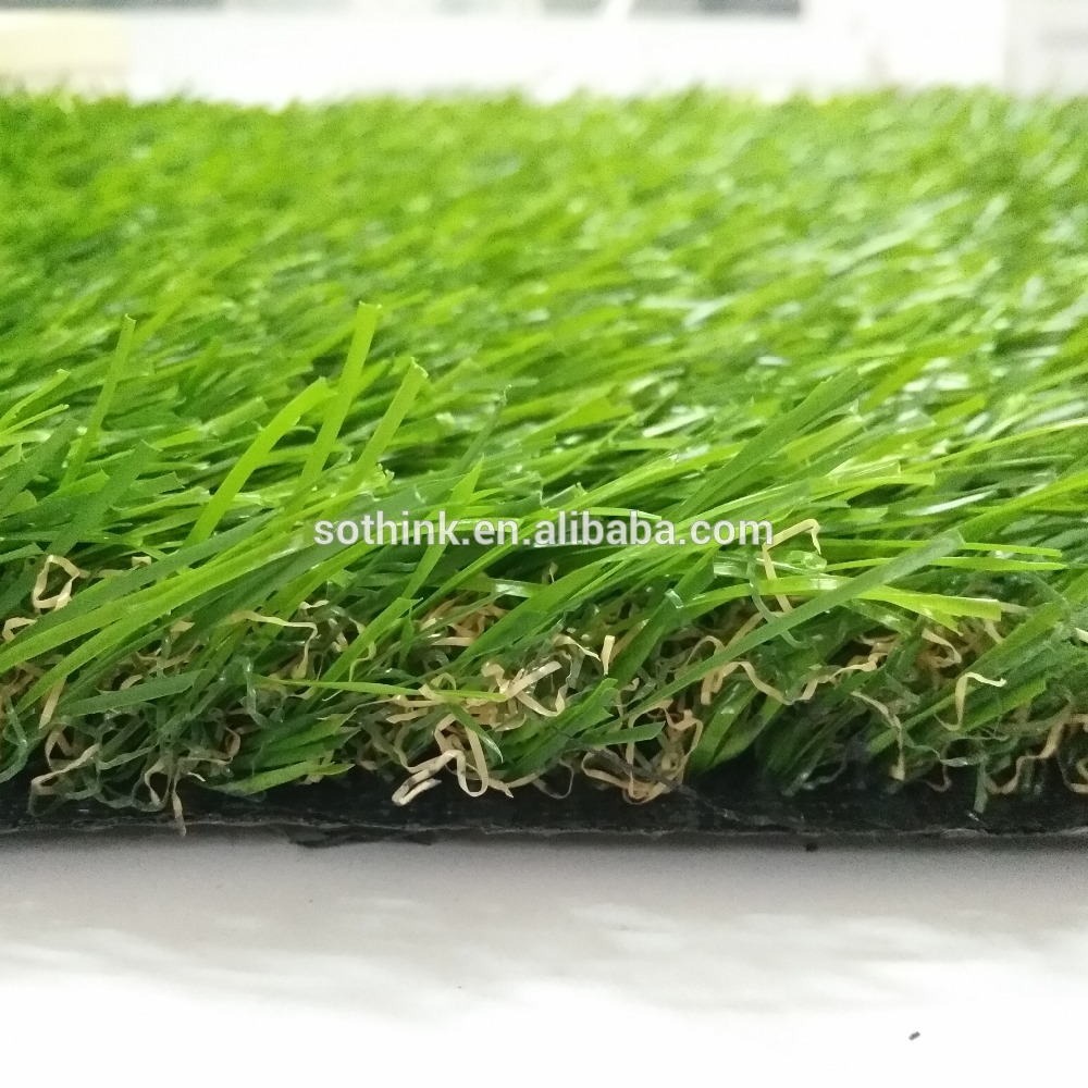 Factory Supply Artificial Golf Grass - Cheapest free sample decorate home garden landscaping artificial grass carpet – Sothink