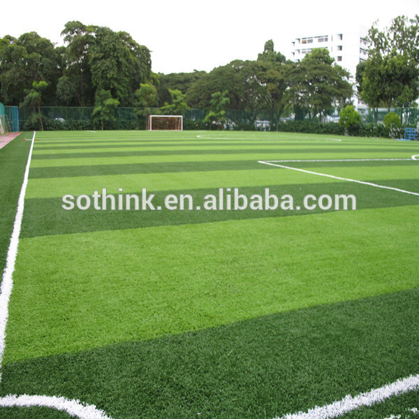 Big discounting Artificial Turf Supply - 50mm synthetic artificial grass for football soccer field – Sothink Featured Image