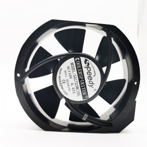 factory Outlets for Ac Computer Fan - SA17238-3 172X150X38m 17238 fan Industrial Exhaust High quality AC axial cooling fan  – Speedy