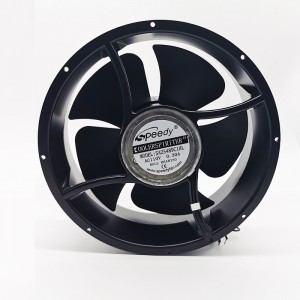 SA25489-2 AC 220V 25489 254mm 254x254x89mm big AC axial fan made in China