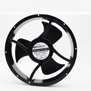 DC FAN SD25489-1 254x254x89mm 25489 25cm 254mm 24V 48V DC Axial/Cooling Fan 254mm ventilation fan