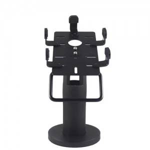 Universal Black Adjustable POS Pole Credit Card Stand Holder High Quality POS Machines Device