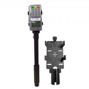 Non-contact Black 55cm Length Aluminum Handheld Removable Arm POS Terminal Stand For Verifone