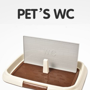 Pet supplies are convenient, clean, environmentally friendly, spill-proof indoor pet toilets