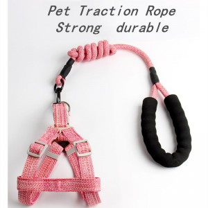 Pet Traction Rope Dog Chest Retraction Small and Medium-sized Dog Rope Chest Retraction