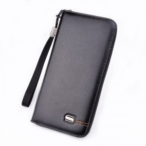 Factory wholesale Rfid Wallet - New business clutch bag handbag long zipper clutch bag multi-function men bag – Sansan